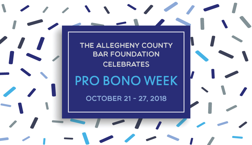 Pro Bono Week, October 23-27, 2017